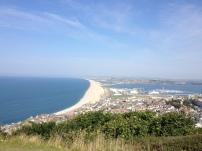 Blick auf die Stadt - Weymouth