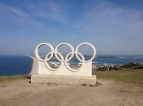 Statue zu den Olympischen Spielen 2012 - Weymouth