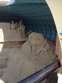 Sandskulptur - Portland