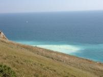 Meer in wunderschönen Farben - Lulworth Cove